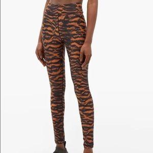 The Upside tiger print yoga leggings size 6